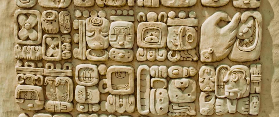 lenguas indígenas - glifos maya