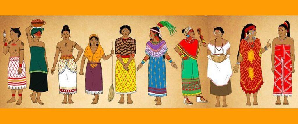 vestidos maya