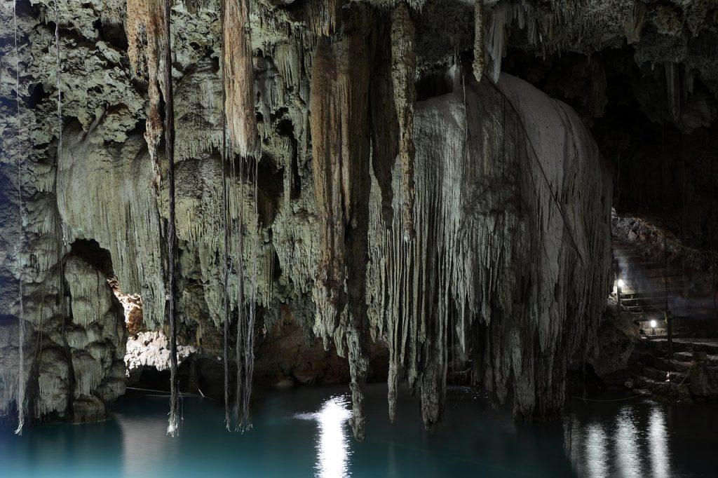 cenote, cave, grotto