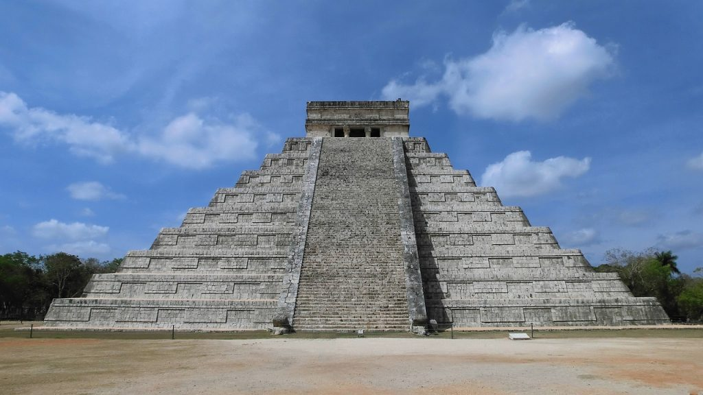 maya, pyramid, mexico