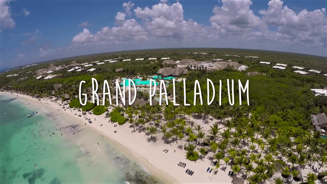Grand Palladium Riviera Maya aerea